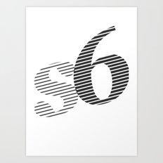 s6_tee_2 Art Print