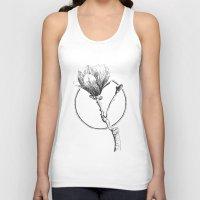 magnolia Tank Tops featuring Magnolia by Sunali Narshai
