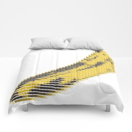 Pantone as pixel Banana Comforters
