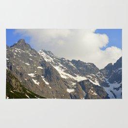 Blue Sky - Snowy Mountain Rug