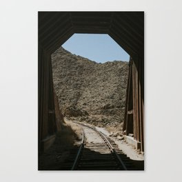 Tunnel #10 Canvas Print
