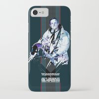 neil gaiman iPhone & iPod Cases featuring Neil Armstrong Tribute by Largetosti