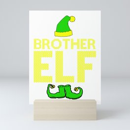 brother elf, santa, elf, elf gifts, santa christmas, xmas, santa gifts Mini Art Print