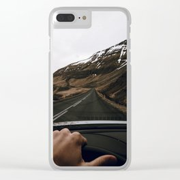 Road Trip VI / Iceland Clear iPhone Case