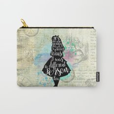 Alice in Wonderland - I Was A Different Person Then Carry-All Pouch