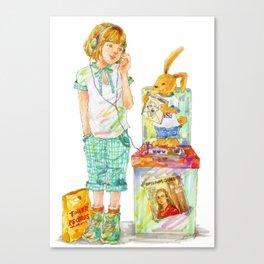 Indie Pop Girl vol.2 Canvas Print