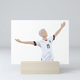 Megan Rapinoe USWNT Mini Art Print