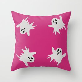 Ghosts #4 Throw Pillow