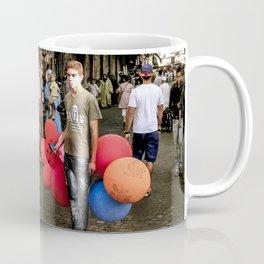 Boy and Balloons, Moroccco Souq Coffee Mug