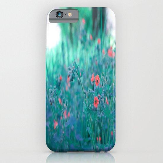 Blue Fields iPhone & iPod Case