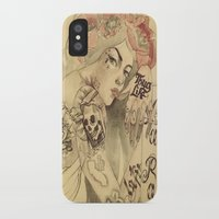 mucha iPhone & iPod Cases featuring mucha chicano by Paolo Zorzenon