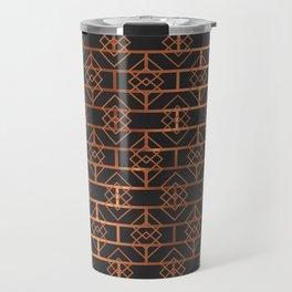 Art Deco Subway Diamonds #2 Travel Mug