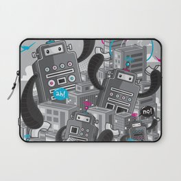 Must destroy the city - Revisited Laptop Sleeve