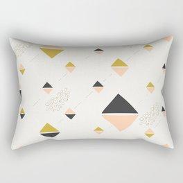Abstract rhombuses Rectangular Pillow