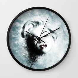 Ohh Marilyn! Wall Clock