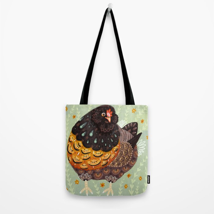 Golden Chicken Tote Bag