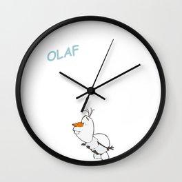Olaf the Snowman (Frozen) Wall Clock