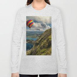 Snowdon Hot Air Balloon Long Sleeve T-shirt