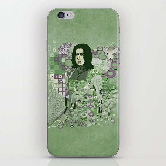 Portrait of a Potions Master iPhone & iPod Skin