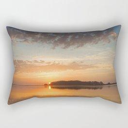 A Gentle Kiss Rectangular Pillow