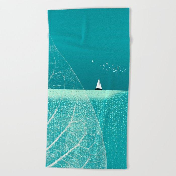 Ocean Wonderland II Beach Towel