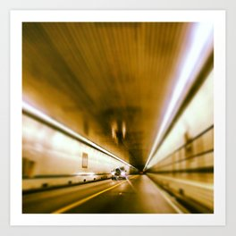Tunnel under the Bay Art Print