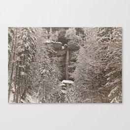 Pericnik Falls Canvas Print