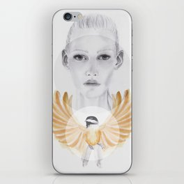 Little Brown Bird iPhone Skin