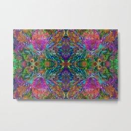 Buddha 5 geometry III Metal Print
