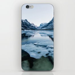 Icy Innerdalen Valley in Norway iPhone Skin
