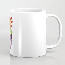 Glitter Eggplant Bomb Coffee Mug