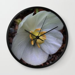 Mayapple Flower Wall Clock