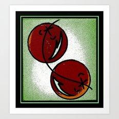 Cherry Chic Art Print