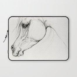 Arabian horse ink art Laptop Sleeve