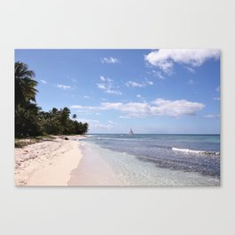 Stranded on Paradise Canvas Print