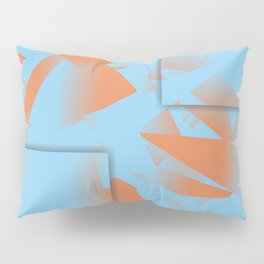 Blue is the new Orange Pillow Sham