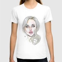 lucas david T-shirts featuring Lindsay By Lucas David 2015 by Lucas David