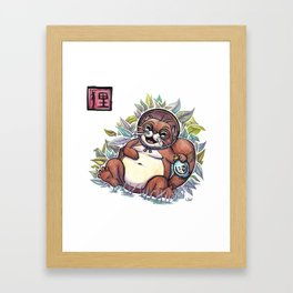 Legends - Tanuki Framed Art Print