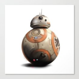BB-8 by dana alfonso Canvas Print