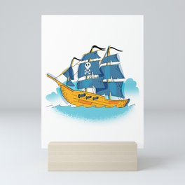 Pirate Ship Mini Art Print