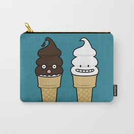 Happy Soft Serve Ice Cream Cones Carry-All Pouch