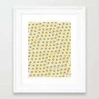 eggs Framed Art Prints featuring Eggs by Tyler Spangler