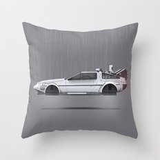Back to the Future Part II Throw Pillow