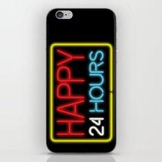 Happy 24 hours iPhone & iPod Skin