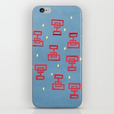 Ming Dynasty Red Papercut iPhone & iPod Skin