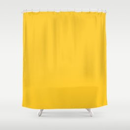 Autumn Abstract ~ Yellow Leaves Shower Curtain