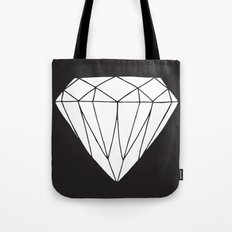 White diamond Tote Bag