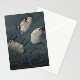 Three Sheeps to the Wind Stationery Cards