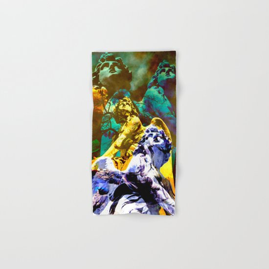 THE ANGELS CALL YOUR NAME Hand & Bath Towel
