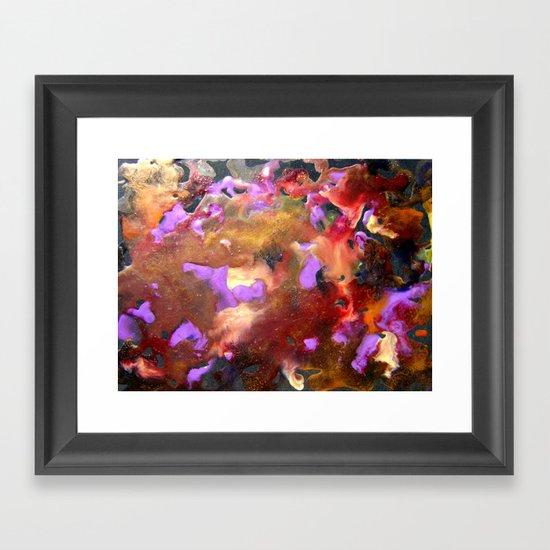 Encaustic Abstract 1 Framed Art Print